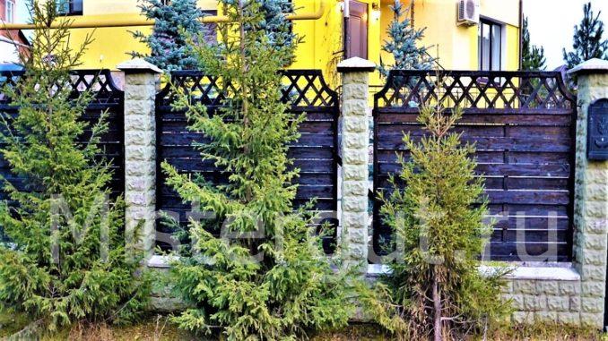 Забор-плетёнка